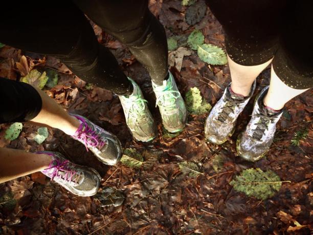 Walking with Friends - photo Alicia Landon