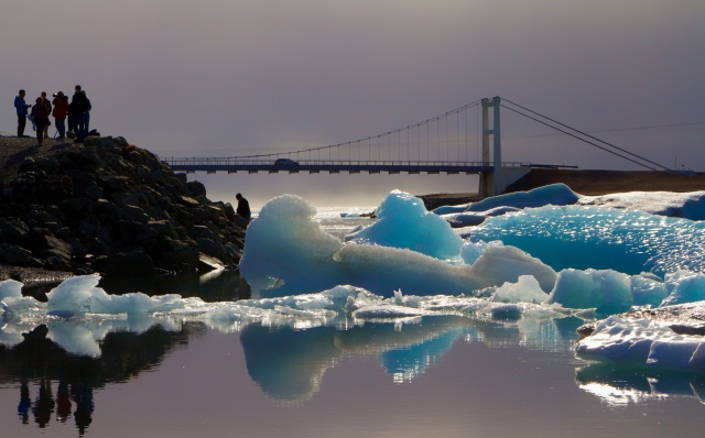 Bridge Glacier Ice