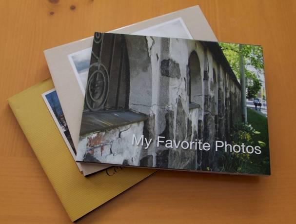 Print books and photos