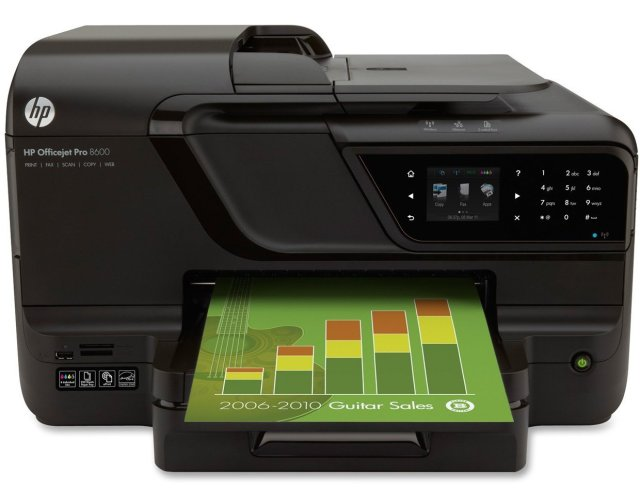 HP 8600 all in one crop