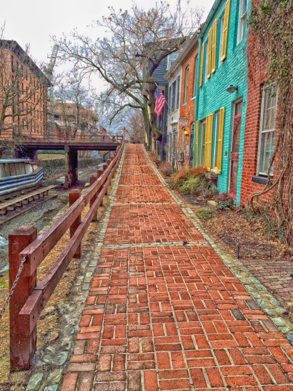 Red Brick Path