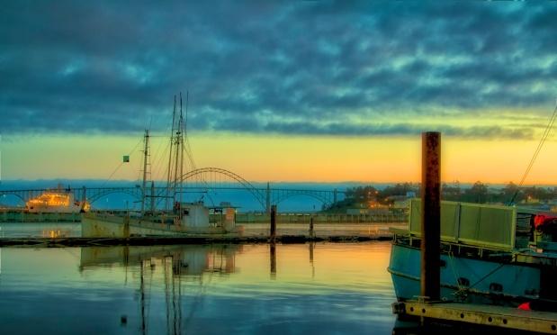 Newport Oregon Reflections