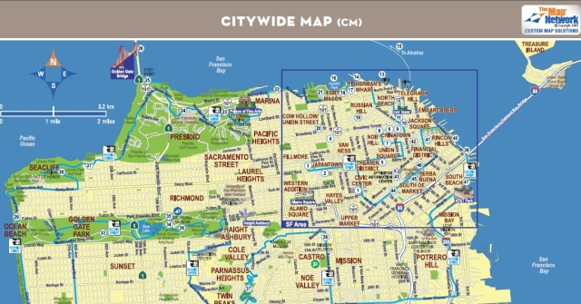 SFO MAP