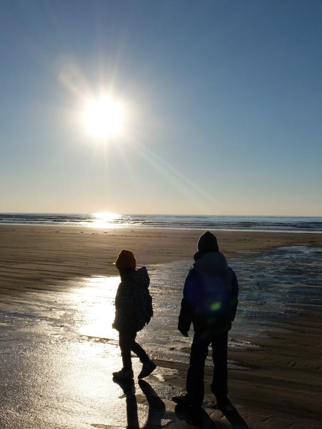 Beach Walking with Camera Walker Sanae