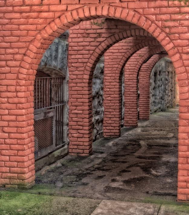 Archways edited in Nik Software