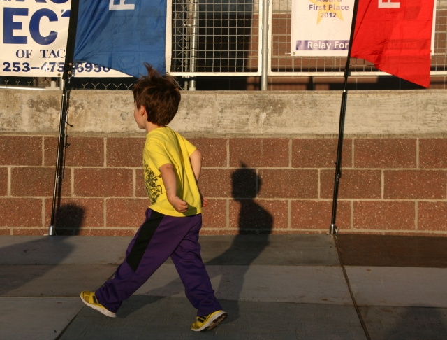 Even Kids love to walk for a cause!