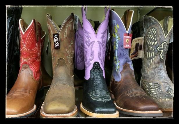 Cowboy Boots Abound