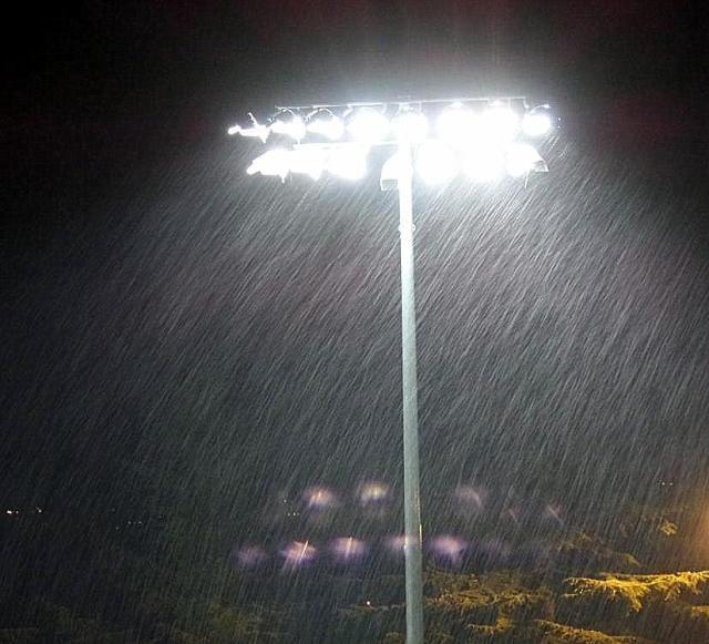 Driving Rain By Night