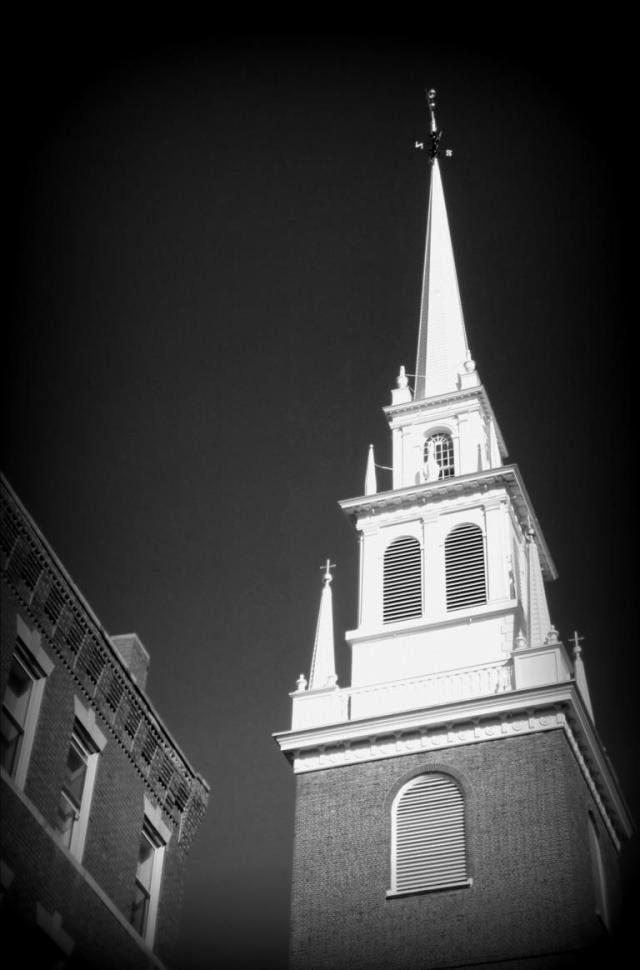 North church B & W