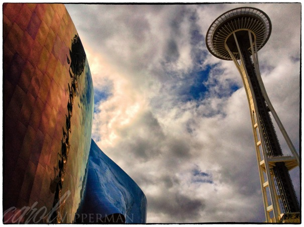 Space Needle Reflections