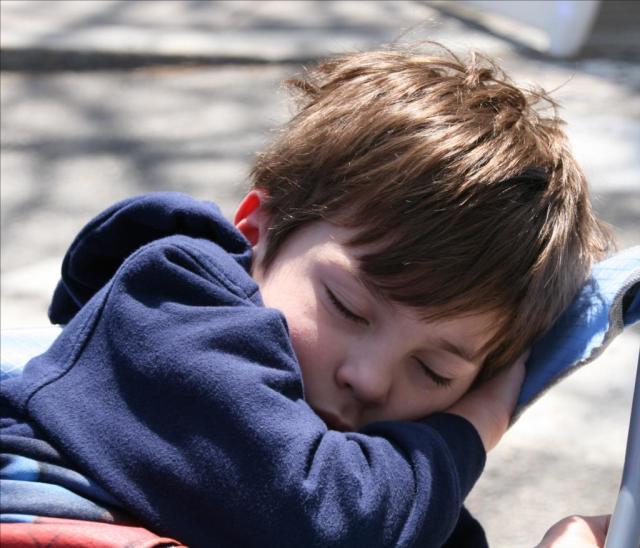 Peaceful Child by Alec Burkheimer