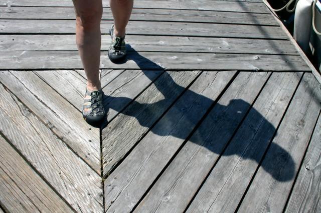 Feet & Shadow