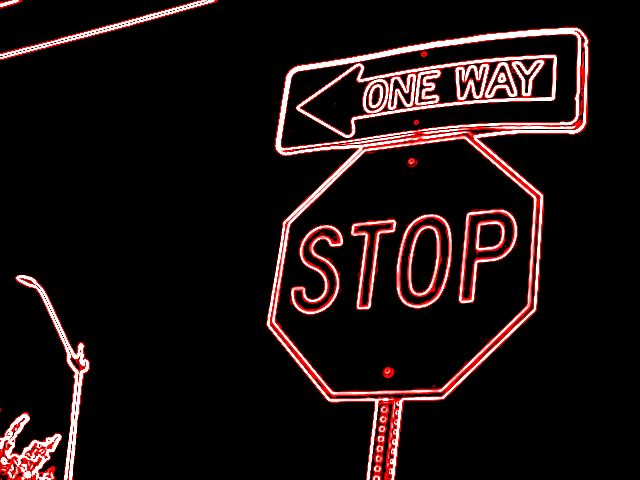 stop neon