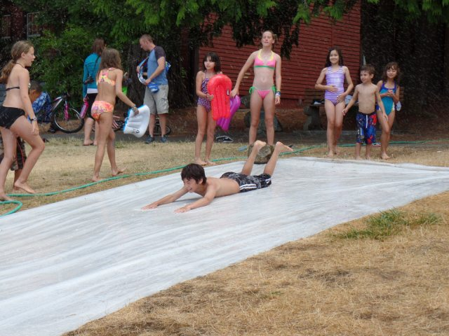Slip and Slide!