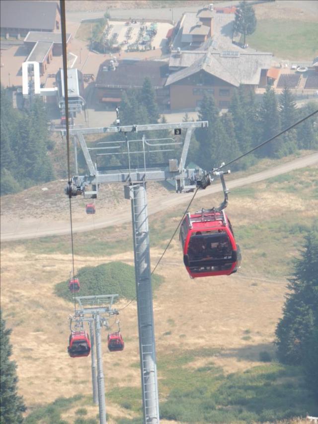 Gondola into base
