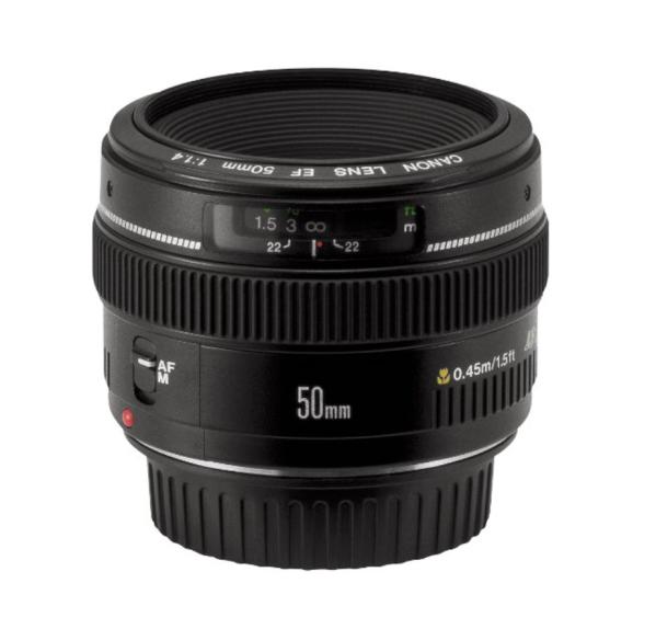 Canon mm f/1.4